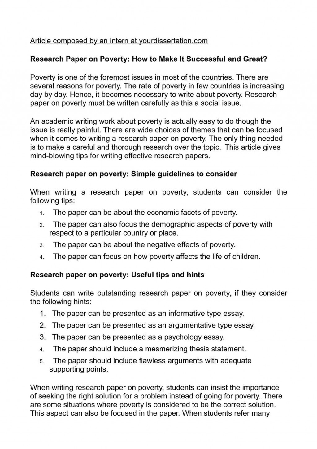 006 Can I Write Research Paper In One Day Fascinating A 6 Page How To Good Large