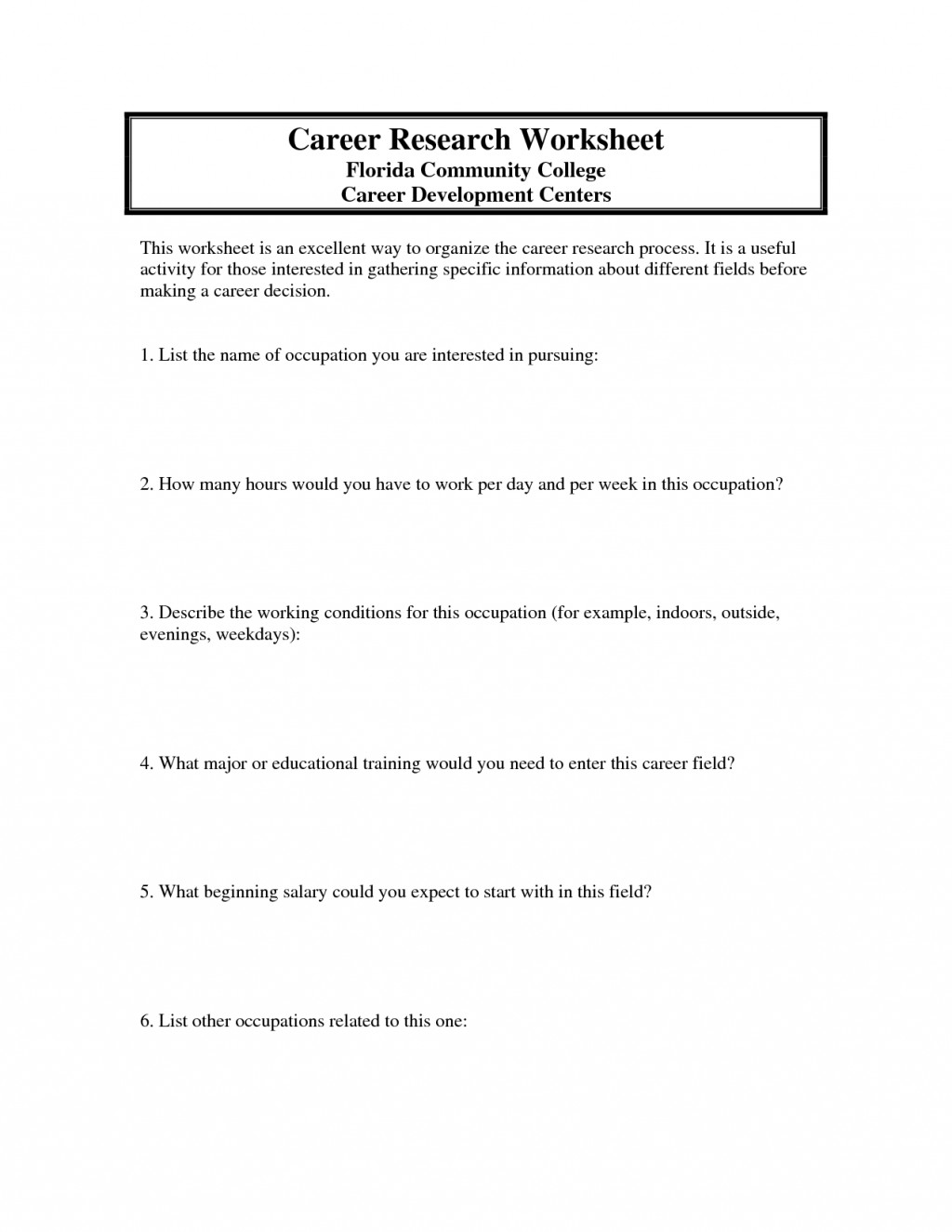006 Career Research Paper Outline Middle Dreaded School Large