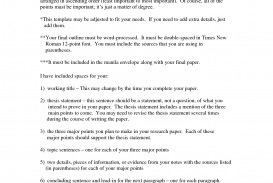 006 Career Research Paper Thesis Examples Of Statements For Papers Template Unforgettable