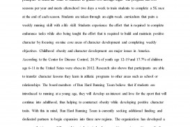 006 Childhood Obesity Research Paper Thesis Statement Toby Kirkland Final Grant Proposal Page 01 Fantastic
