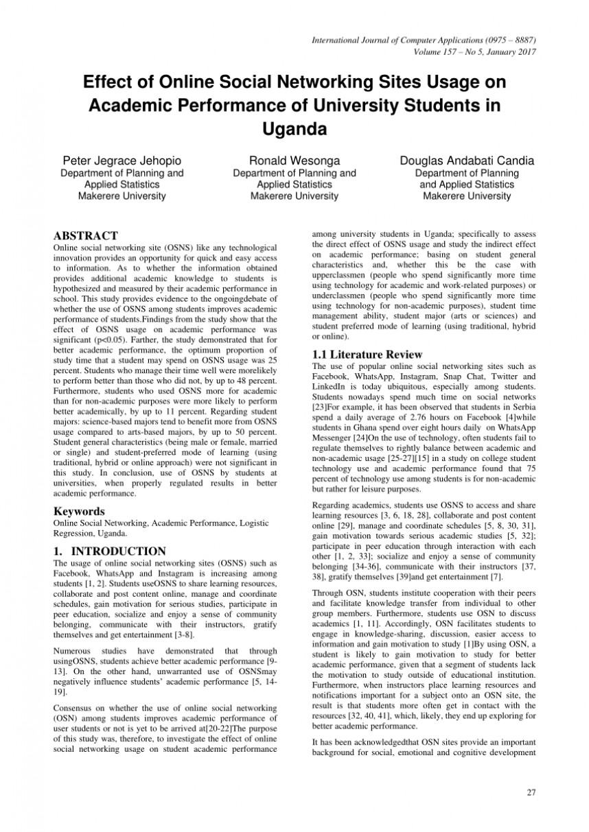 006 Conclusion For Research Paper About Social Media Awful 868