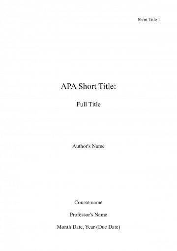 006 Cover Page For Research Paper Apa Incredible Format How To Do A 360