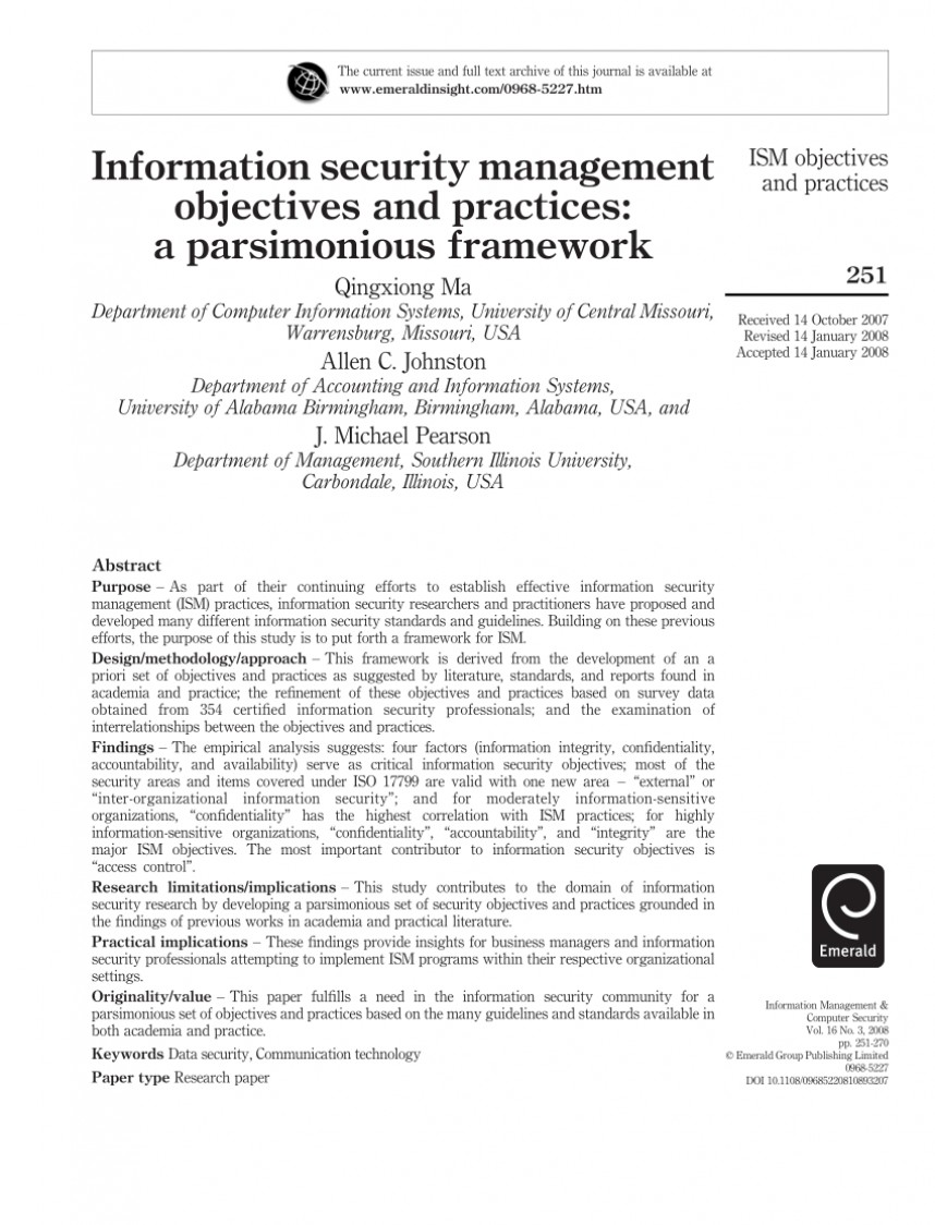 006 Cyber Security Research Paper Ppt Amazing
