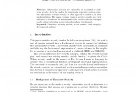 006 Database Security Research Paper Abstract Fascinating 320