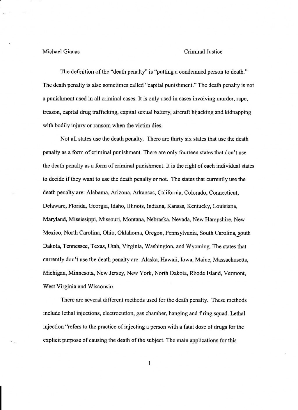 006 Death Penalty Pg Research Rare Paper In The Philippines Pdf Outline Titles Large