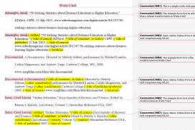 006 Do Works Cited Page Research Paper Example Unique Examples Mla Format