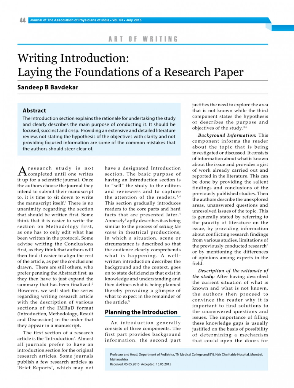 006 Example Of An Introduction For Research Paper Excellent A Apa Sample In Pdf 960