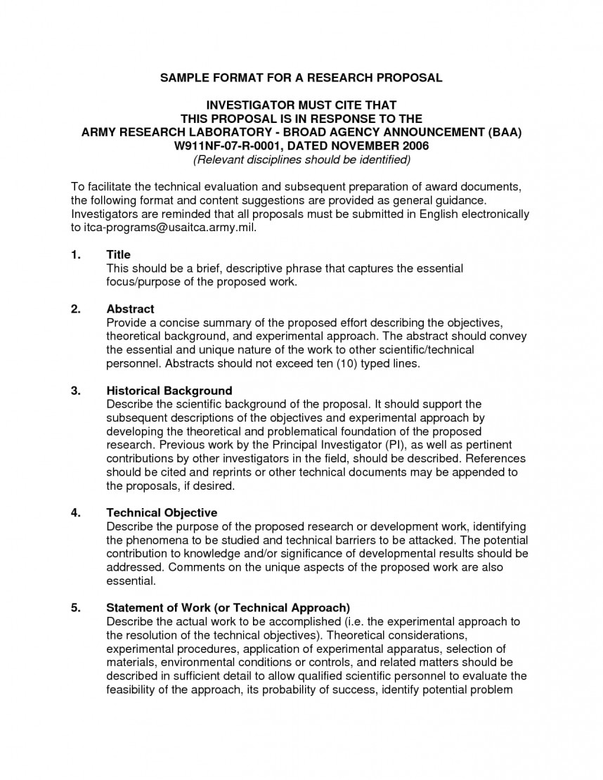 006 Example Of Scientific Research Proposal Paper 6781019586 Action Sample Stunning A