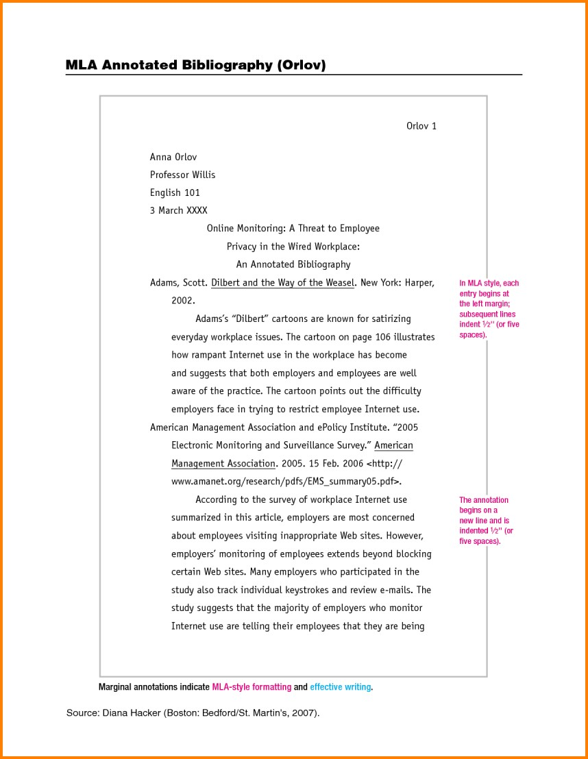 006 Examples Of Researchs In Mla Format Example An Annotated Bibliography For Essay L Impressive Research Papers Paper Style Writing How To Write A Proposal