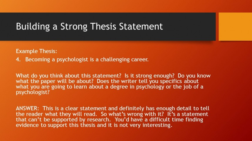 006 Good Thesis Statement For Psychology Research Paper Slide 7 Stirring Examples