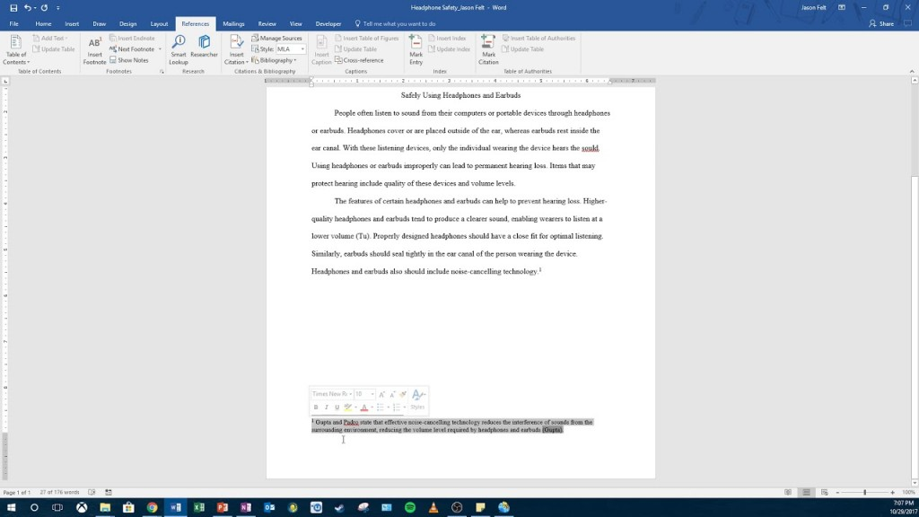006 How To Footnotes In Research Paper Dreaded Add Large