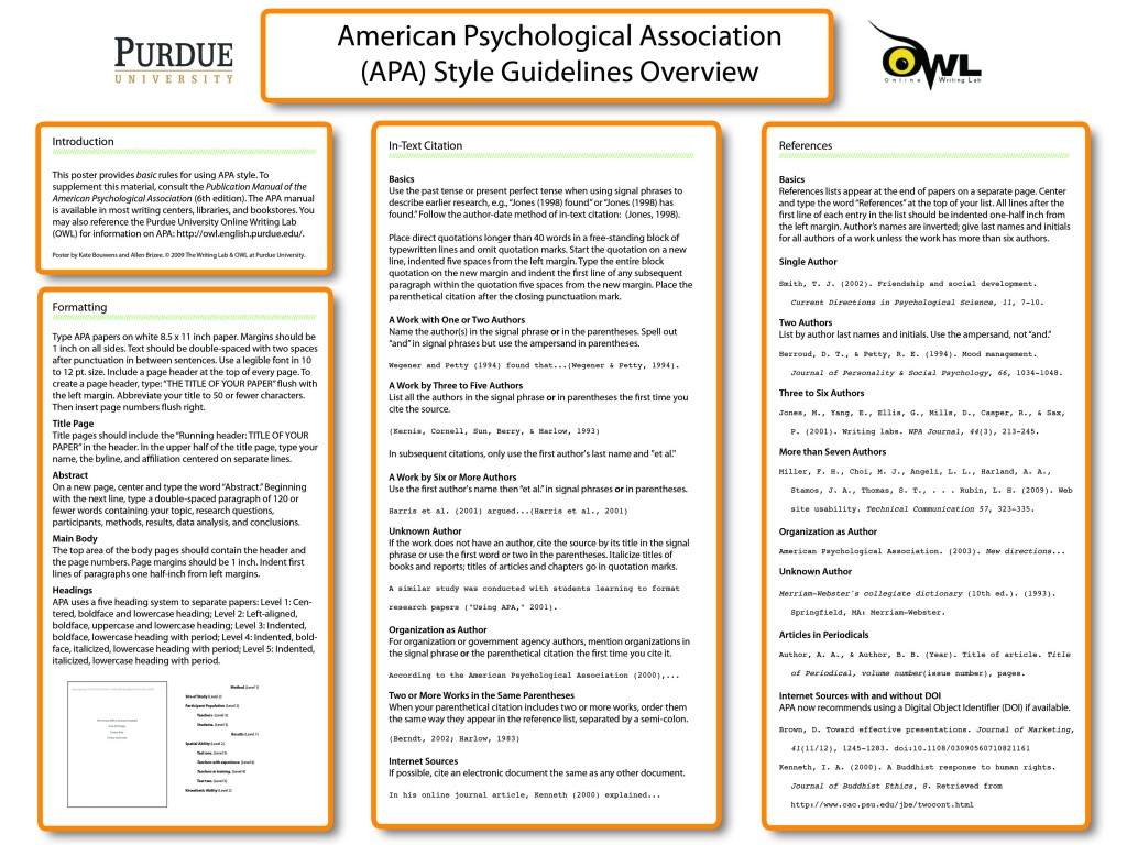 006 How To Write An Abstract For Research Paper Purdue Owl Magnificent A Writing Apa Examples Large