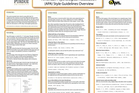 006 How To Write An Abstract For Research Paper Purdue Owl Magnificent A Writing Apa Examples