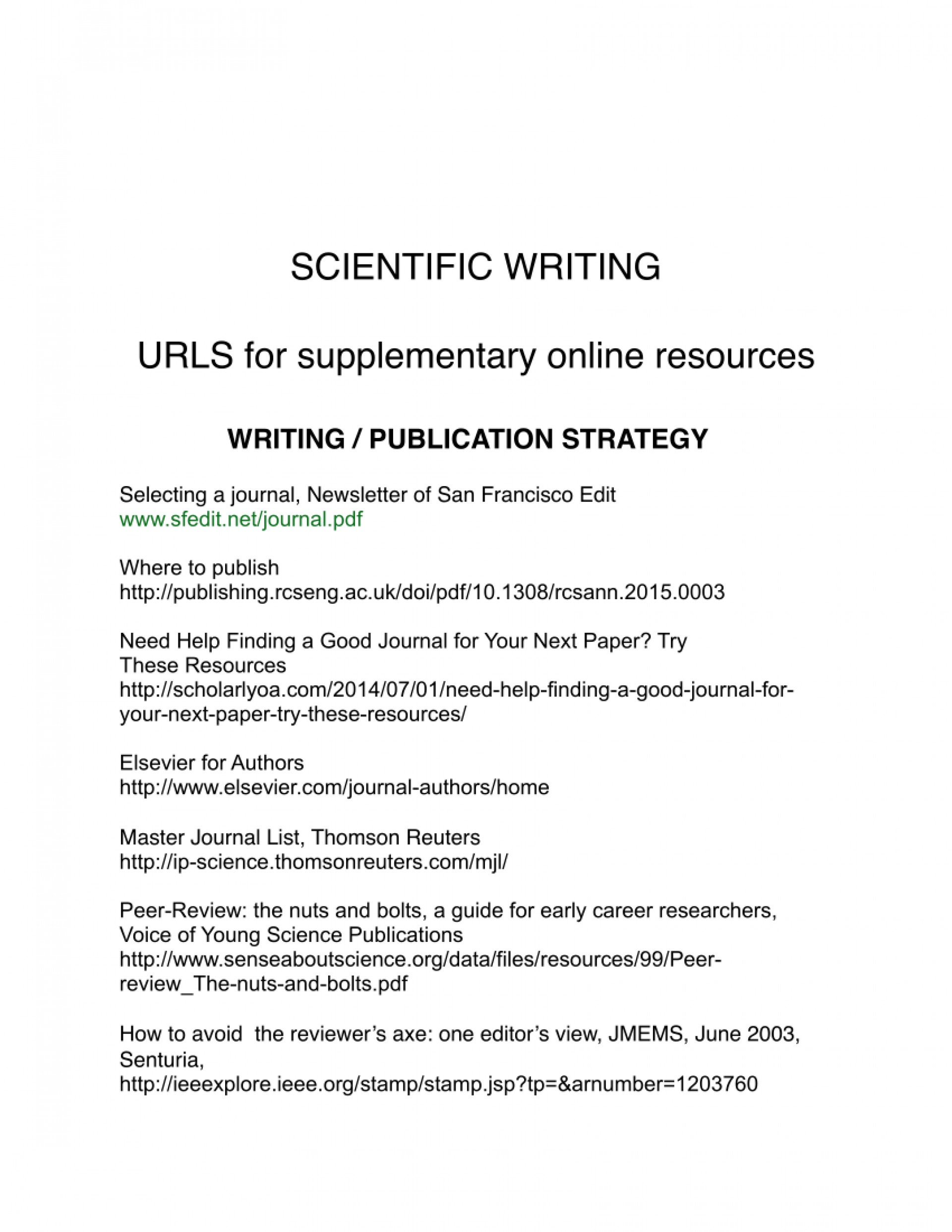 006 How To Write And Publish Scientific Research Paper Pdf Surprising A 1920