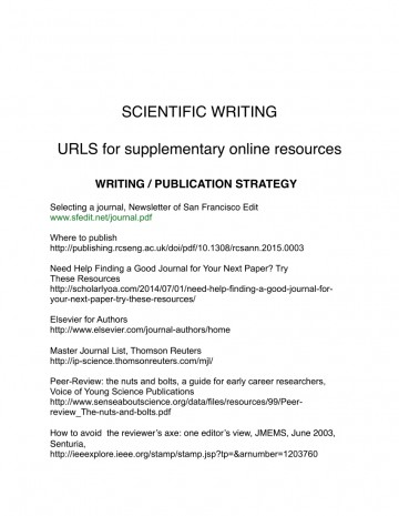 006 How To Write And Publish Scientific Research Paper Pdf Surprising A 360