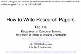 006 How To Write Research Papers L Paper In Computer Science Wondrous Ppt