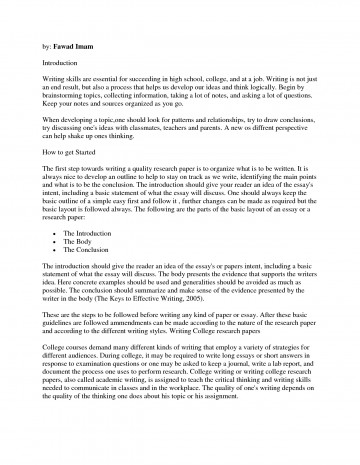 006 How To Write Research Papers Paper Outstanding A Proposal In Apa Format Do I Conclusion For Outline 360