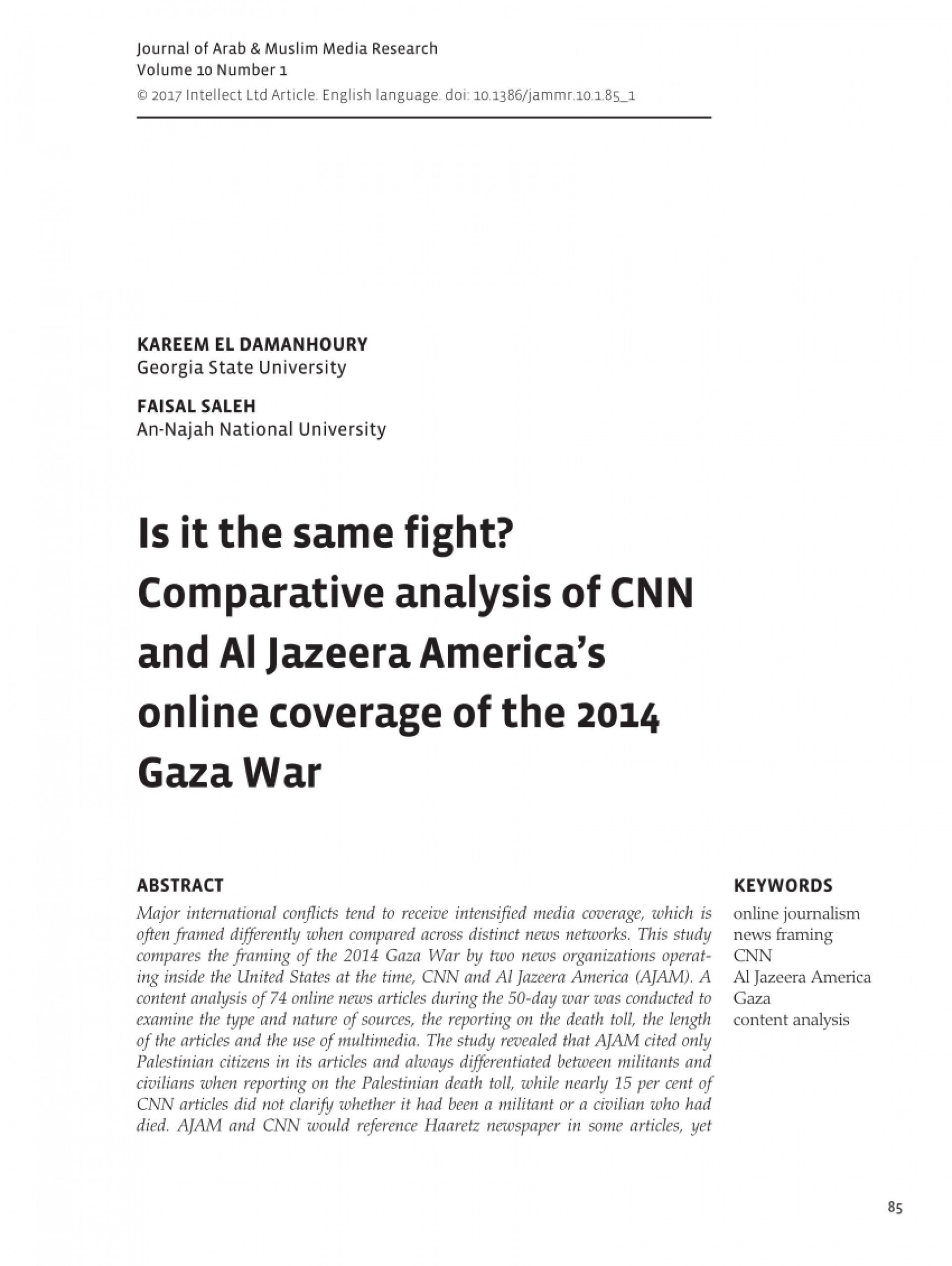006 Is Cnn Credible Source For Research Paper Staggering A 1920