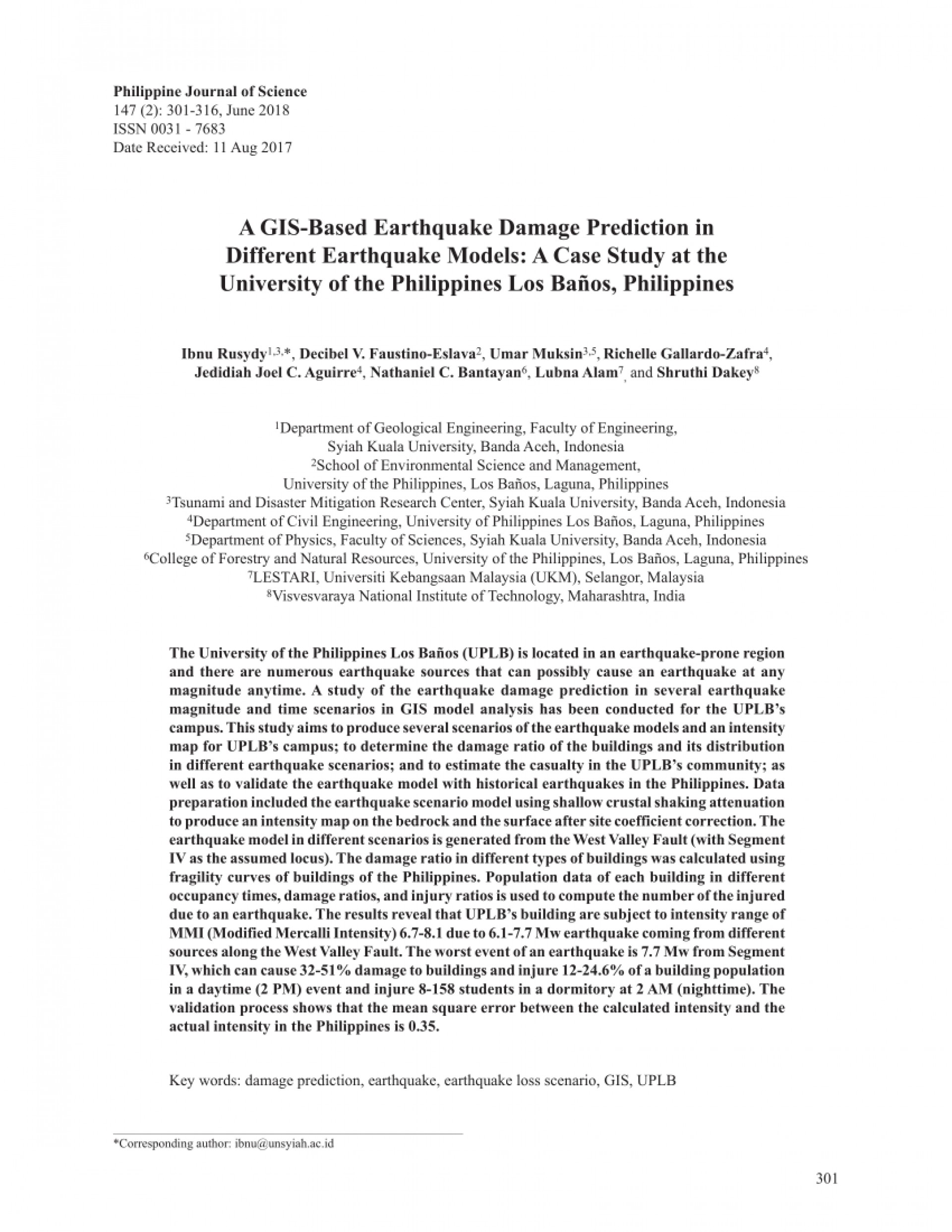 006 Largepreview Earthquake Research Paper Pdf Wondrous Philippines 1920