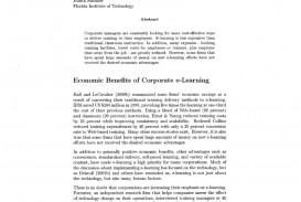 006 Largepreview Effectiveness Of Online Education Research Amazing Paper