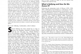 006 Largepreview Example Of Research Paper Introduction About Fascinating Bullying