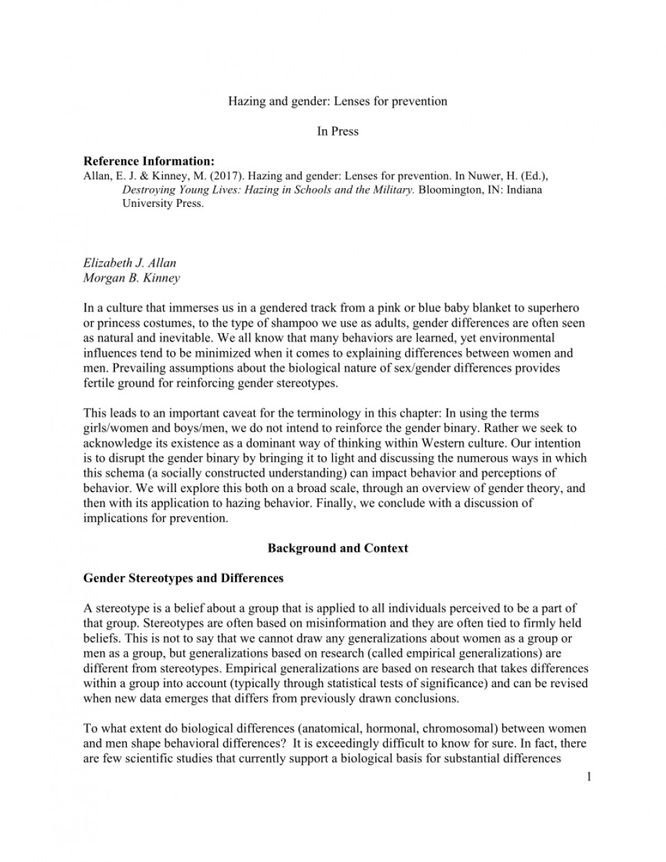 006 Largepreview Research Paper Hazing Marvelous Essay 960