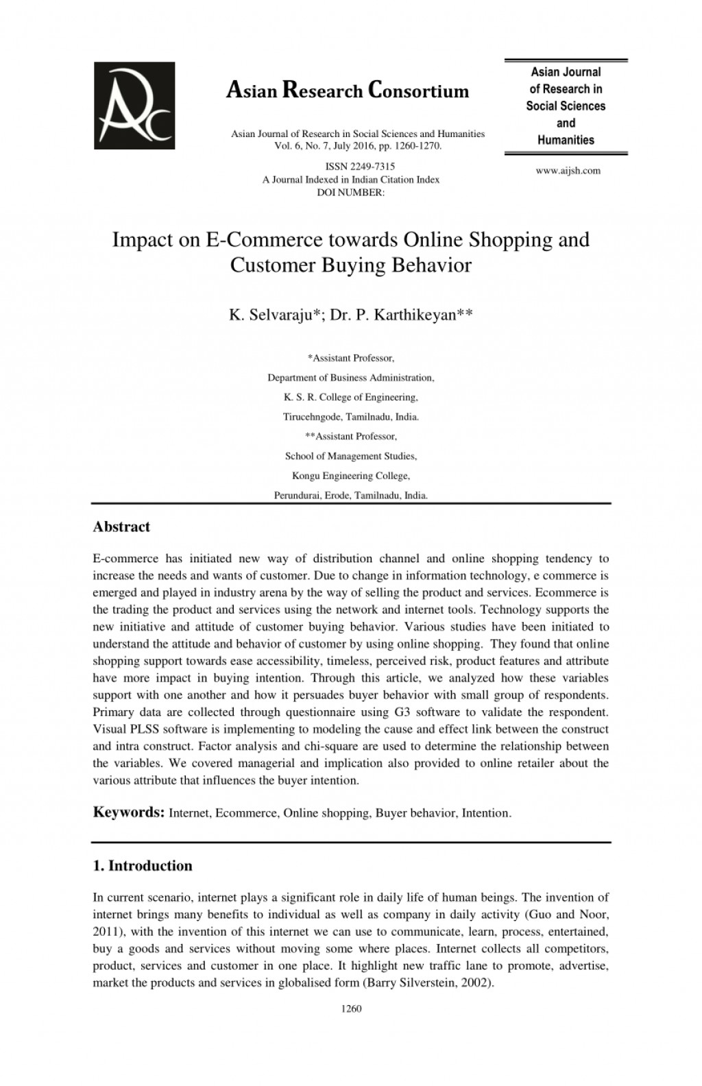 006 Largepreview Research Paper Online Shopping In India Striking Papers On Grocery Large