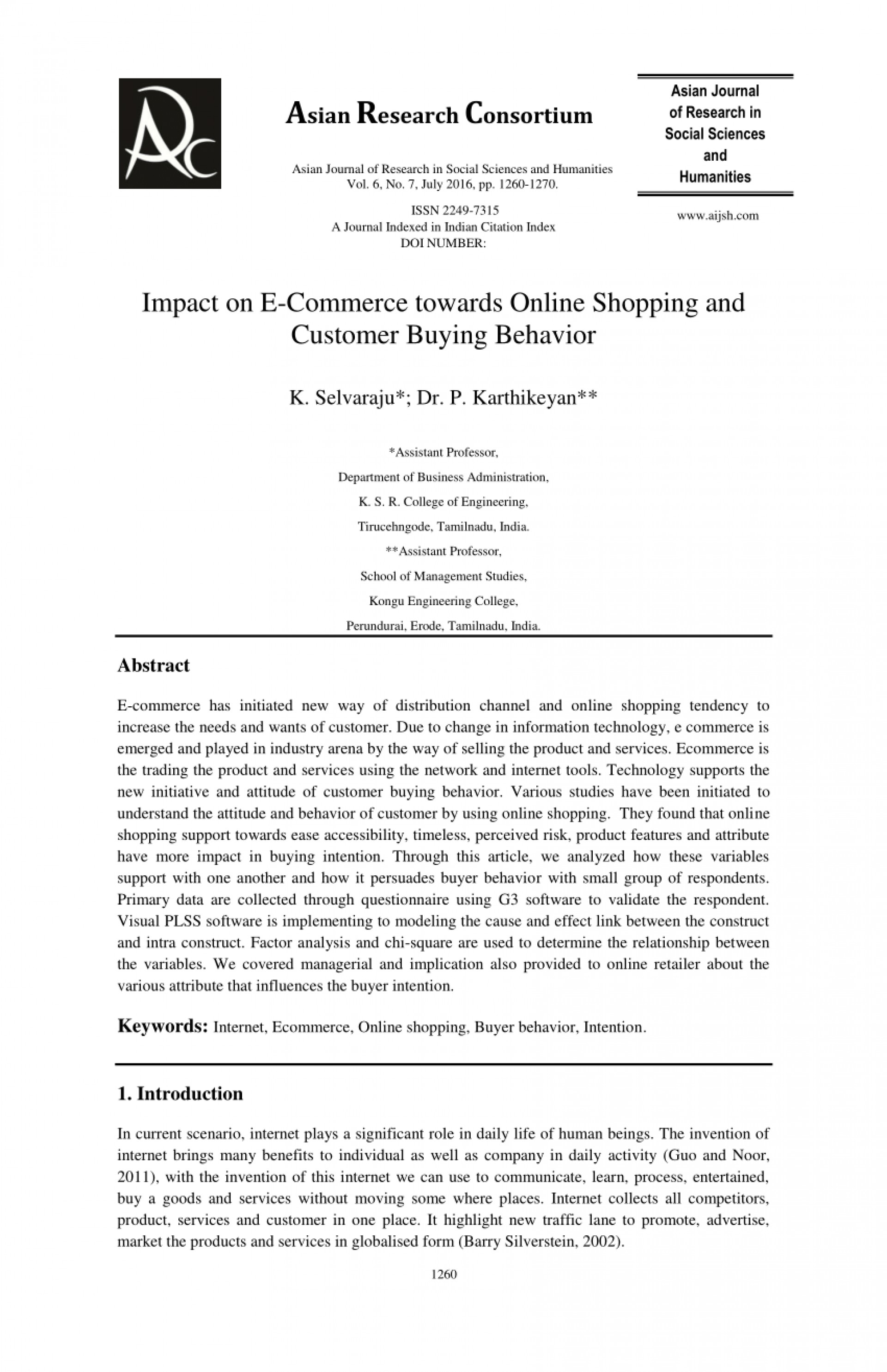 006 Largepreview Research Paper Online Shopping In India Striking Papers On Grocery 1920