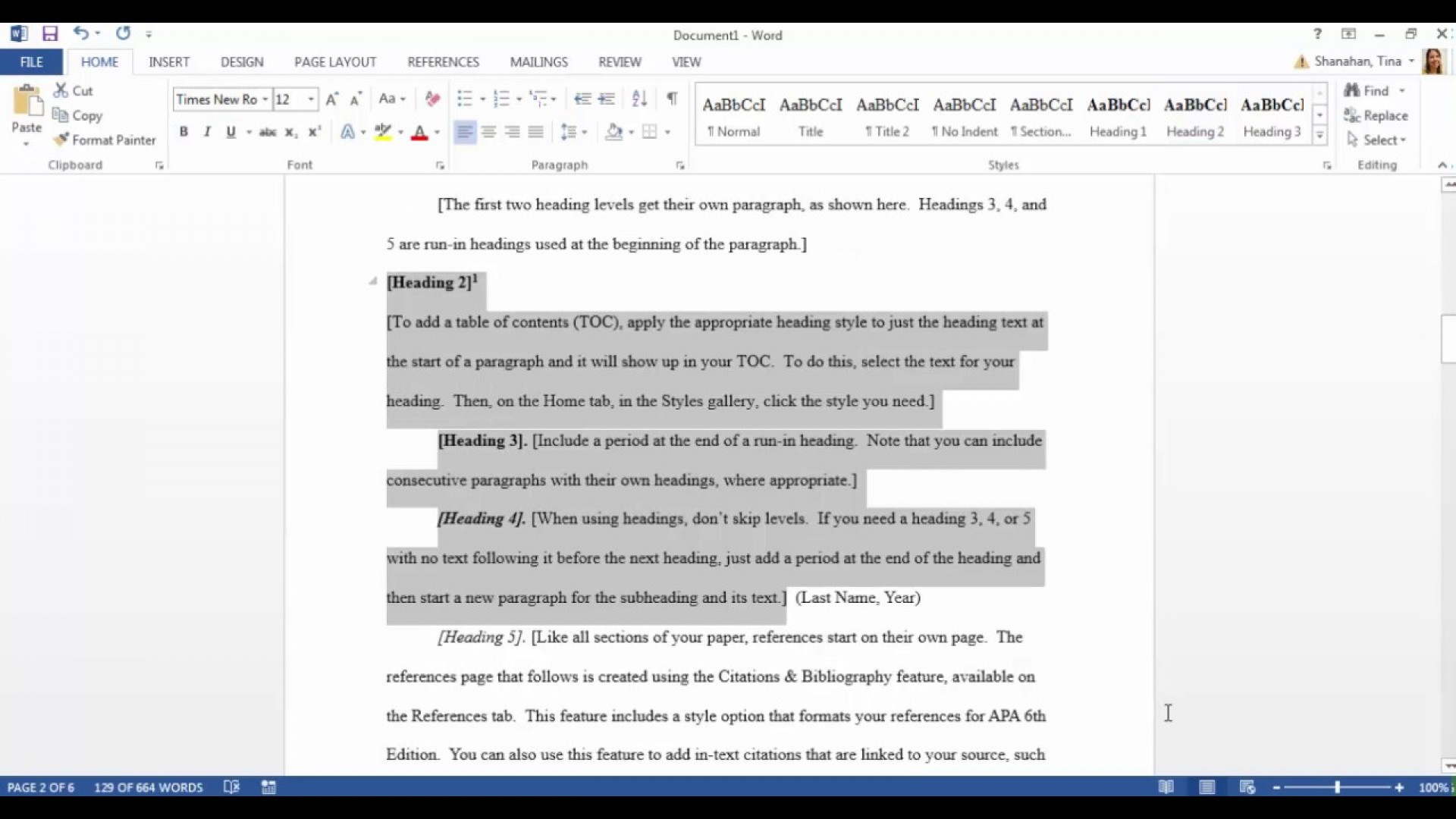 006 Maxresdefault Apa Style Research Paper Template Fantastic Word 1920