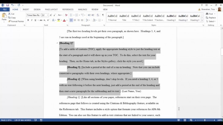 006 Maxresdefault Apa Style Research Paper Template Fantastic Word 728