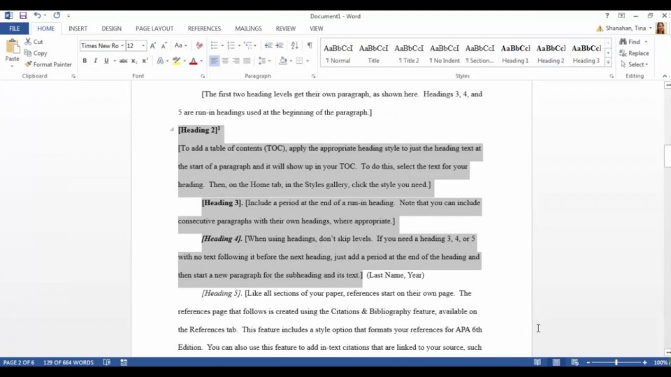 006 Maxresdefault Apa Style Research Paper Template Fantastic Word 960
