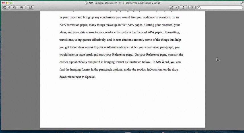 006 Maxresdefault Research Paper How To Put In Apa Impressive A Format