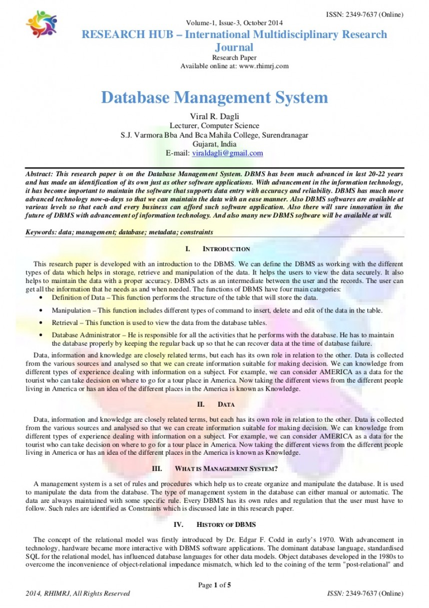 006 Oct14010304 Conversion Gate02 Thumbnail Research Paper Papers On Surprising Database Topics Free Management System Parallel