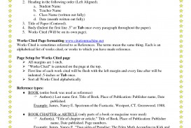 006 Order Of Research Paper Headings In Breathtaking Reviews A Mla Authors