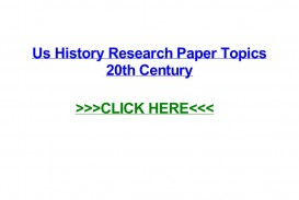 006 Page 1 Research Paper History Topics 20th Stupendous Century Art World