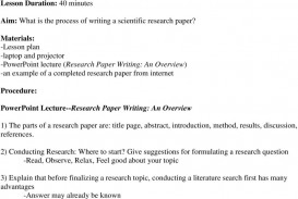 006 Page 1 Research Paper How To Write Results And Discussion Surprising In A Example Section Of Apa The Ppt