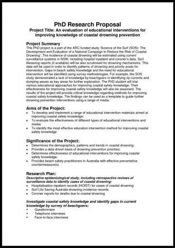 006 Phd Proposal Sample Social Science Example Of Research ~ Museumlegs