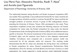 006 Psychology Research Paper On Eating Disorders Top Study Psychological Into Topics