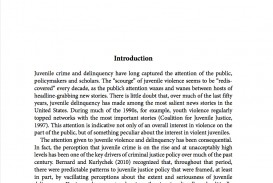 006 Pubs Article Juvenile Crime Cover Research Paper Bullying Articles For Rare Papers