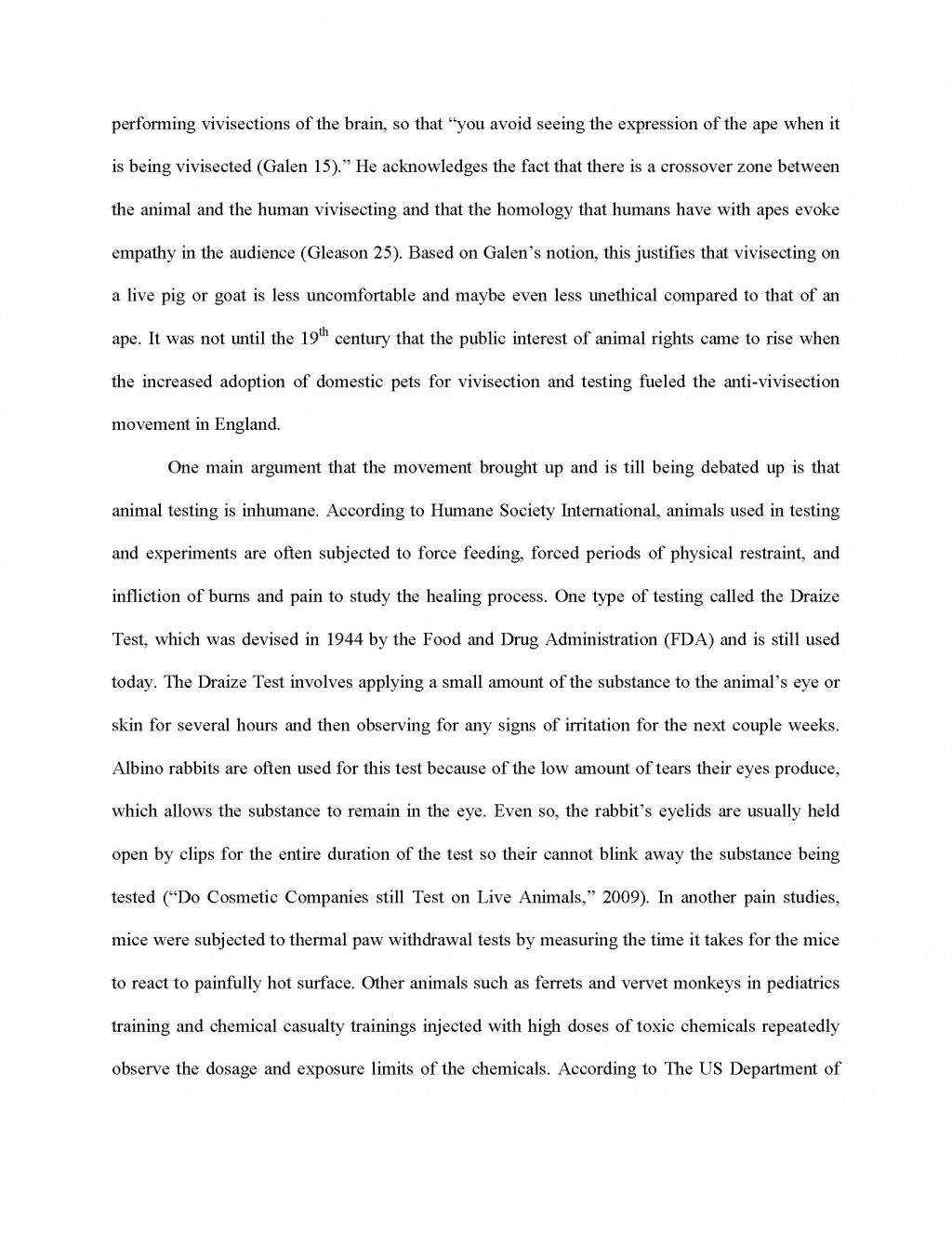006 Research Paper Animal Testing Argumentative Essay Title Titles Outline Cosmetic Unique Experimentation Questions Large