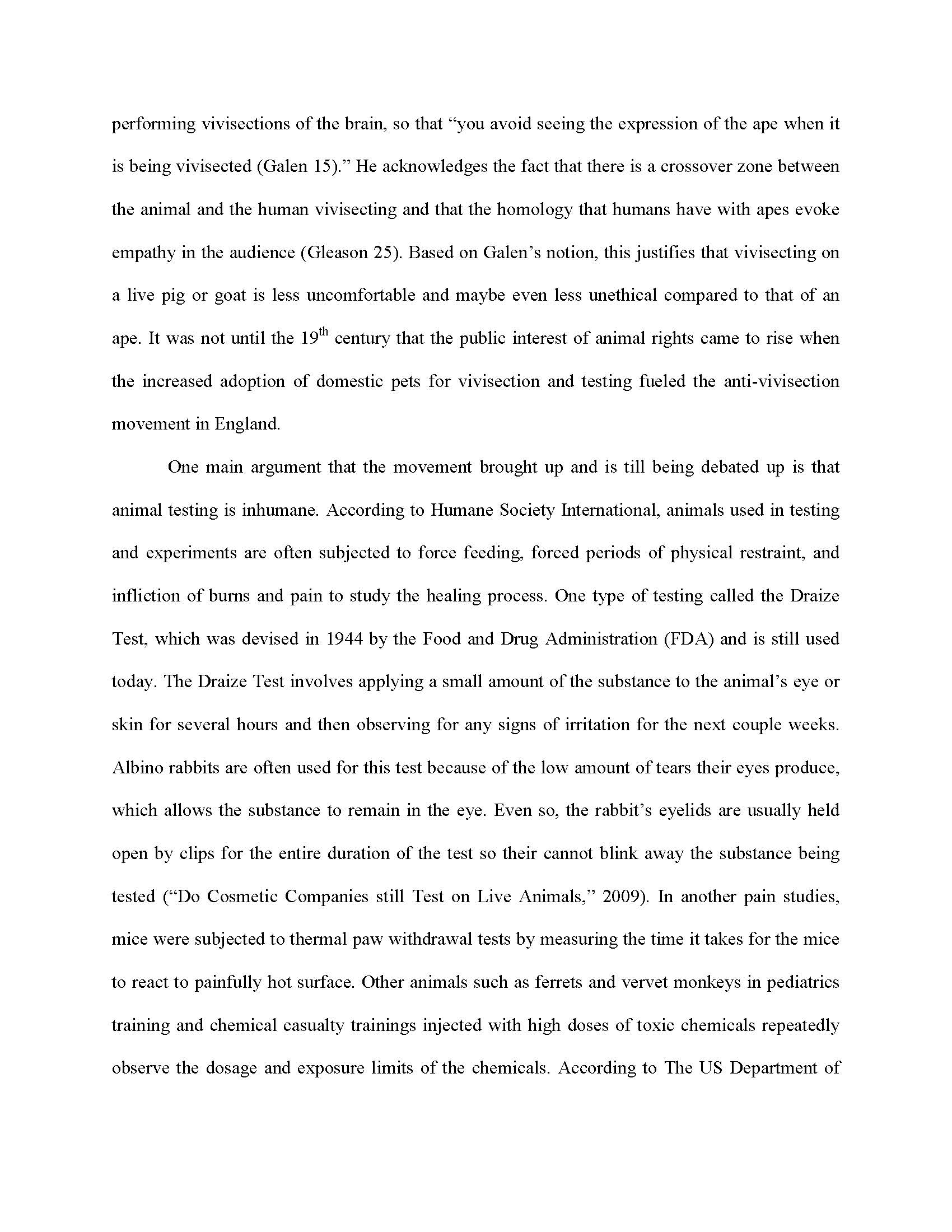 006 Research Paper Animal Testing Argumentative Essay Title Titles Outline Cosmetic Unique Experimentation Questions Full