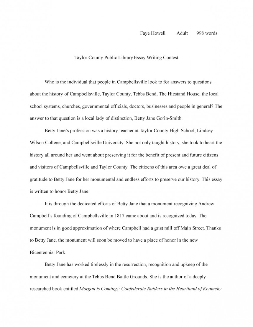 006 Research Paper Essay2bwriting2bcontest12bhowell Art History Amazing Examples