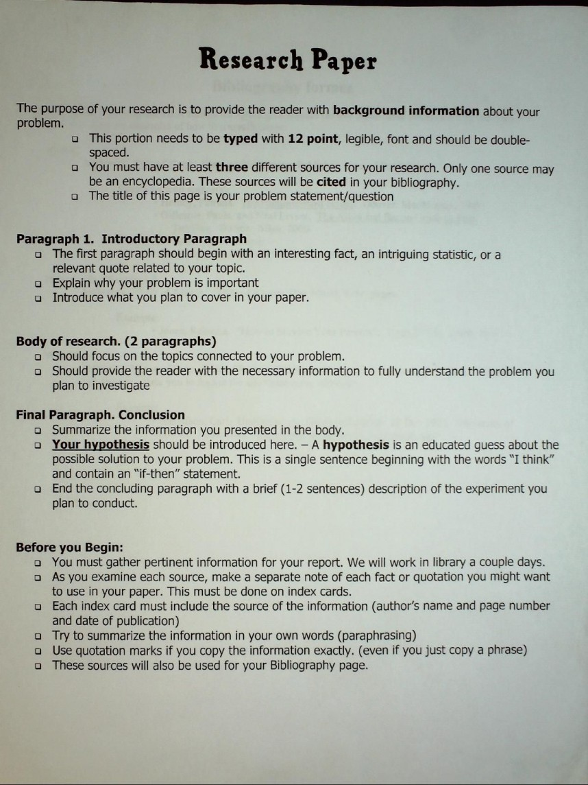 006 Research Paper Free Exceptional Outline Apa Template Printable
