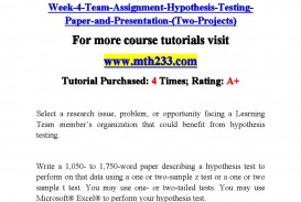 006 Research Paper Hypothesis Testing In Page 1 Awesome Pdf