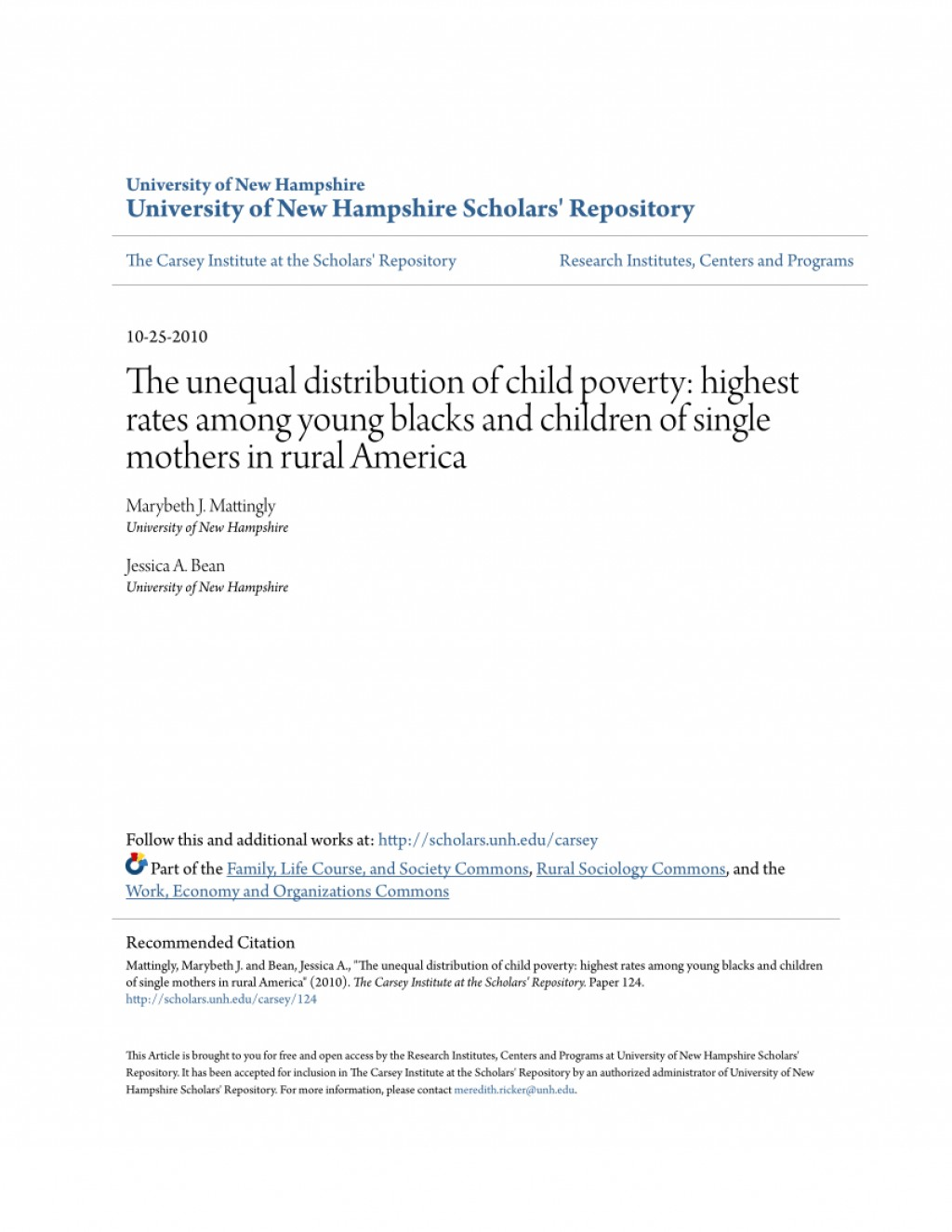 006 Research Paper Largepreview Free On Poverty In Formidable America Large