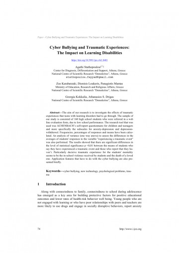 006 Research Paper Largepreview Psychological Effects Of Breathtaking Bullying 360