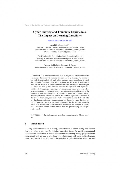 006 Research Paper Largepreview Psychological Effects Of Breathtaking Bullying 480