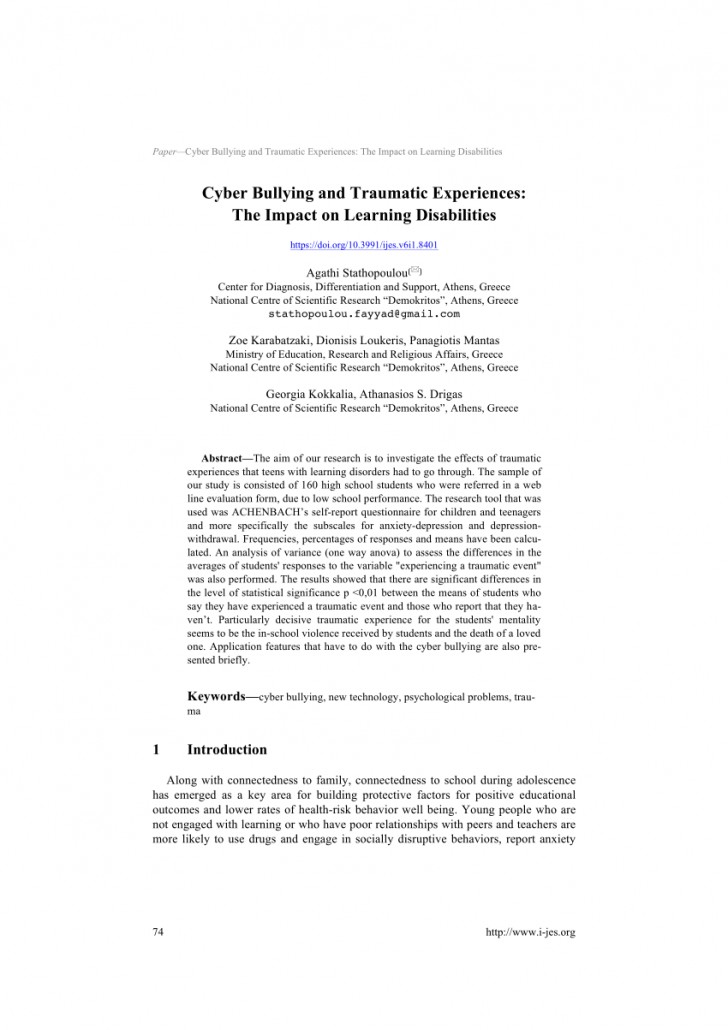 006 Research Paper Largepreview Psychological Effects Of Breathtaking Bullying 728