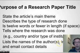 006 Research Paper Maxresdefault How To Write Good Remarkable A Youtube In Apa 320