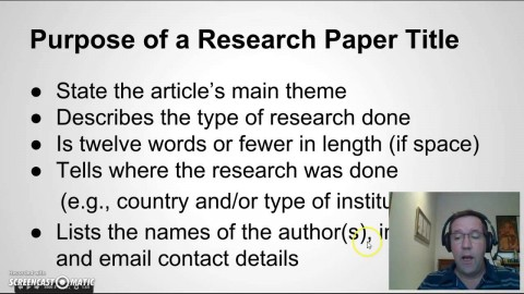 006 Research Paper Maxresdefault How To Write Good Remarkable A Youtube In Apa 480